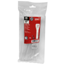 8 Inches Cable Ties, 100-Pack