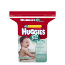 Huggies One and Done Wipes Refill - 184 count