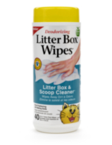 Litter Box Wipes - 40ct