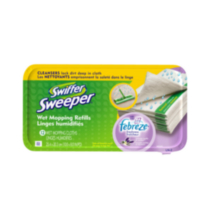 Swiffer ® Sweeper Wet Cloths Refills Lavender & Vanilla 12 each