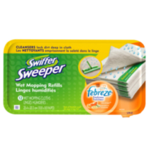 Swiffer® Sweeper Wet Cloths Refills Citrus Breeze - 12 count