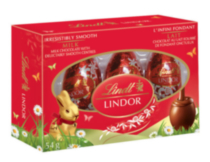 Lindt Lindor Milk Chocolate Eggs