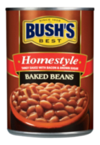 BUSH'S® Homestyle Tangy Sauce with Bacon and Brown Sugar Baked Beans