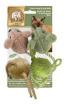 The Cat Fanciers' Association® Wooly Mice Set