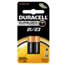 Duracell Coppertop Alkaline 21/23 batteries, 2 Count