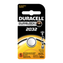 Duracell Duralock Power Preserve 2032 Lithium Battery