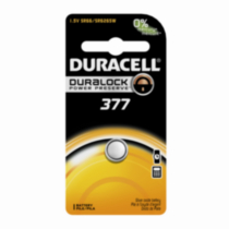 Duracell 377 1.5V Watch/Electronic Battery, 1 Count
