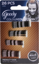 Goody Color Collection Bobby Pins, Black