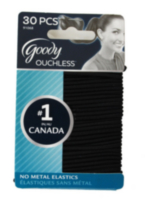 Goody Ouchless® No Metal Elastics - Black