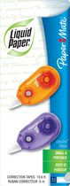 Liquid Paper DryLine Micro Correction Tape, 2-Pack