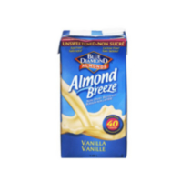 Almond Breeze Vanille Sans Sucre de Blue Diamond