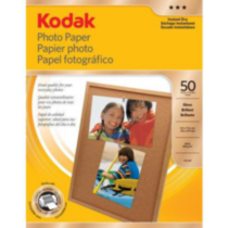 Kodak Photo Paper Gloss 8.5x11 50 Sheet