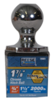 "Reese Towpower® 1-7/8"" Chrome Interlock® Hitch Ball"