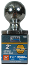 "Reese Towpower® 2"" Chrome Interlock® Hitch Ball"