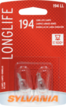 194LL Long Life automotive miniature bulb 2 pack