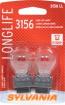 3156LL Long Life automotive miniature bulb 2 pack