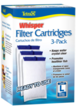 Tetra Whisper Large Filter Cartridge 3pk