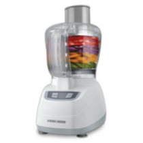 Black & Decker 8 Cup Food Processor - White
