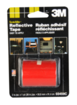Scotchlite Reflective Tape - red
