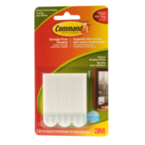 Command(TM) Medium Picture Hanging Strips 17201C