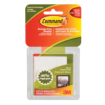 Command™ Medium Picture Hanging Strips, 17204C