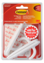 Command™ Large Hook Value Pack 17003C-VP