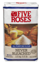 Five Roses All Purpose Never Bleached Flour