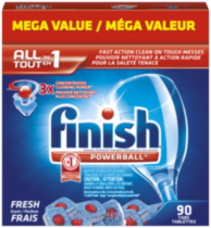 Finish All In 1 Powerball Automatic Dishwasher Detergent
