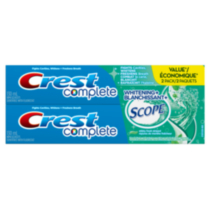 Crest Complete Whitening+ Scope Minty Fresh Toothpaste