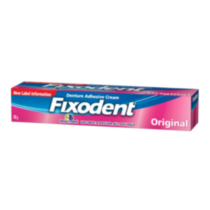 Fixodent Control with ...