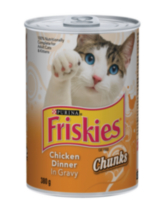 Purina Friskies® Chunks Chicken in Gravy Cat Food