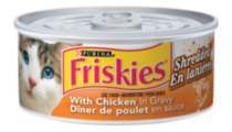 Purina Friskies® Shredded Chicken & Salmon in Gravy Cat Food