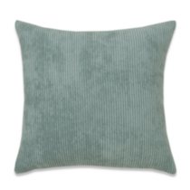 Plush Stripe Cushion French Blue