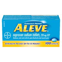 ALEVE® Naproxen Sodium Pain Reliver Caplet