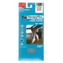 THERAPY PLUS Total Support Knee High Grey