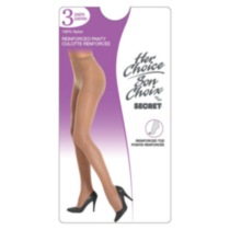 Her Choice Nylon Day Sheers Black B