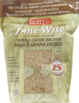 Time-Wise Riz brun à grains entiers