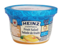 Heinz Strained Fruit Salad Bowl