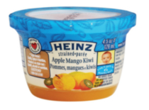 Heinz Strained Apple Mango Kiwi