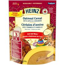 Heinz Apple and Cinnamon Oatmeal Baby Cereal