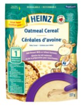 Heinz No Milk Oatmeal Baby Cereal