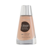 Cover Girl Clean Liquid Makeup Foundation 135 Medium Light