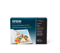 Epson Premium Photo Paper Glossy - 4X6 - 100 Pack