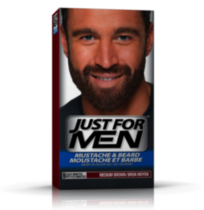 Just For Men Mustache & Beard M-35 Medium Brown Brush-In Colour Gel