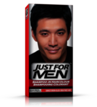 Shampoing colorant brun/noir foncé H-50 de Just For Men