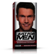 Shampoing colorant brun moyen H-35 de Just For Men
