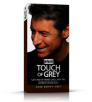 Touch of Grey Dark Brown T-45