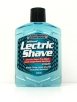 Williams Lectric Shave Electric Razor Pre Shave Ice Blue