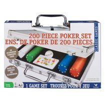 Cardinal Games 200 Piece Poker Set