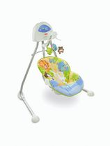 Fisher-Price Animals of the World Cradle & Swing
